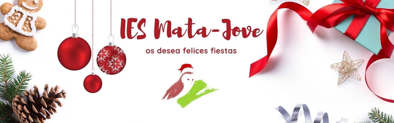Felices Fiestas desde el IES Mata Jove